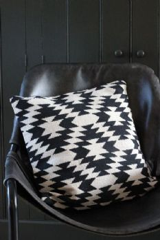 Cotton Ikat Cushion