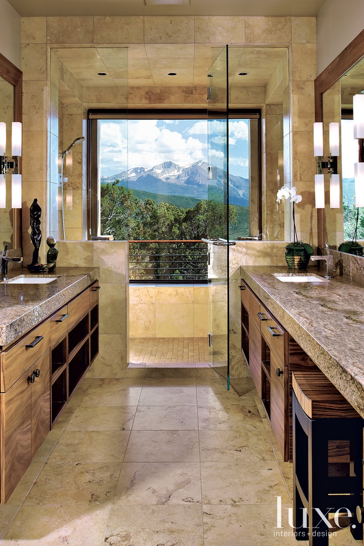 Bathroom Design, The View Is Everything. Architecture: John Muir And Lane  Laugesen Interior Design: Karl Foster And Natalie Lynch Colorado Fall 2010  Feature