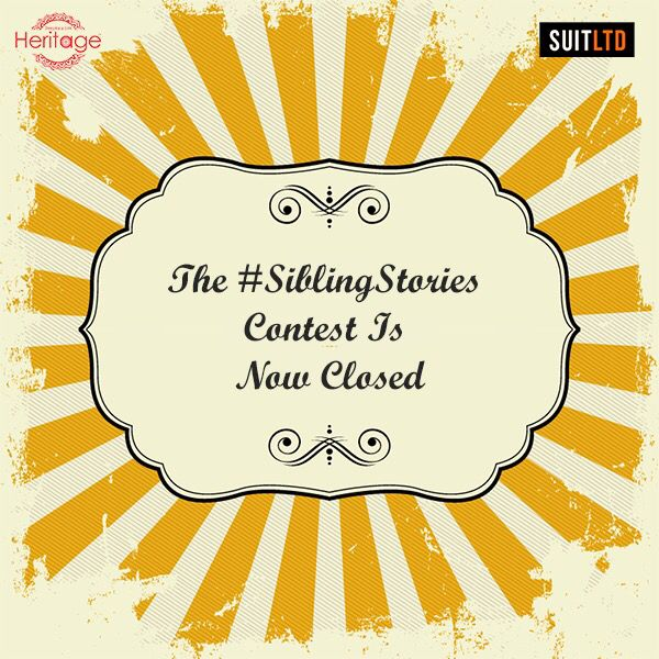 Thank you for the overwhelming amount of responses. You all are amazing. Now, stay tuned to know if you're the lucky ones. #SiblingStories #RakhiContest #DeepkalaSilkHeritage #ContestClosed