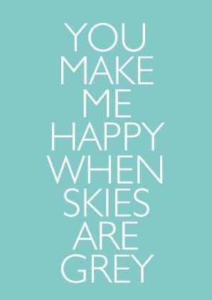 You make me happy - Liefde kaarten - Kaartje2go