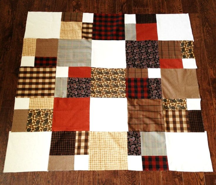 Grandfather's Lap Quilt Free Quilt Pattern and Tutorial - Simple Simon and Company
