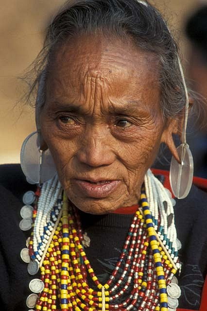 Myanmar   Naga woman.  Chin State   ©deepchi1, via flickr