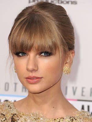 Taylor Swift bangs!
