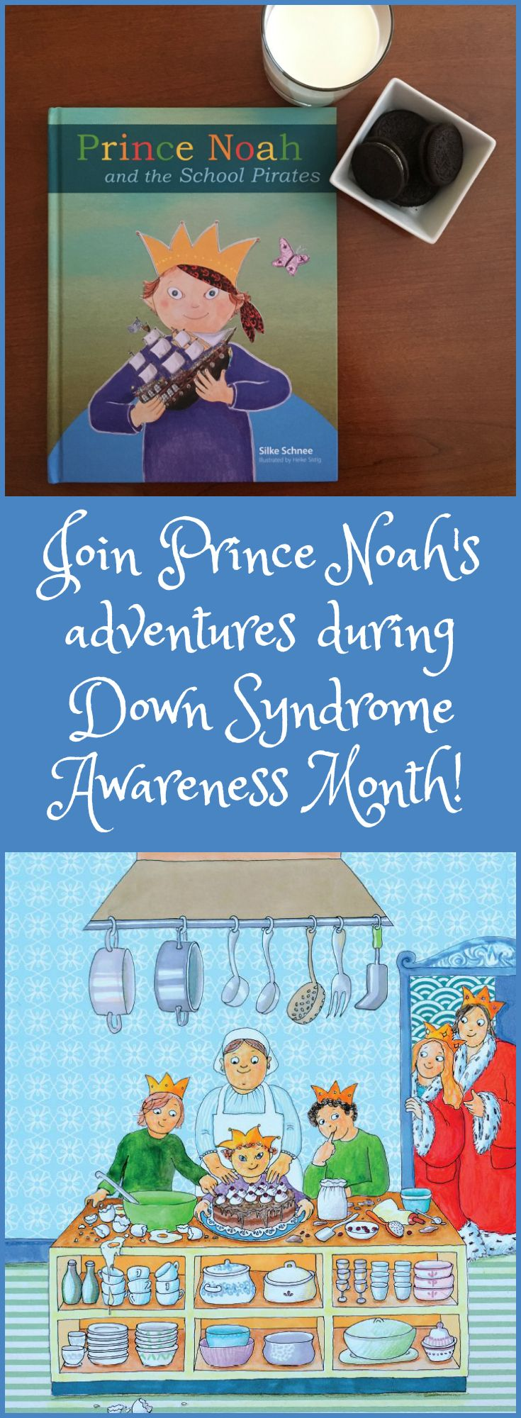 October is Down Syndrome Awareness Month, and Prince Noah helps kids of all abilities learn that Down Syndrome is Up! There's not much Prince Noah and his friends of all abilities can't do when they face a band of pirates together. This adventurous book captures children's imaginations while teaching important lessons about inclusion. More: http://www.plough.com/en/topics/community/education/prince-noah-and-the-school-pirates