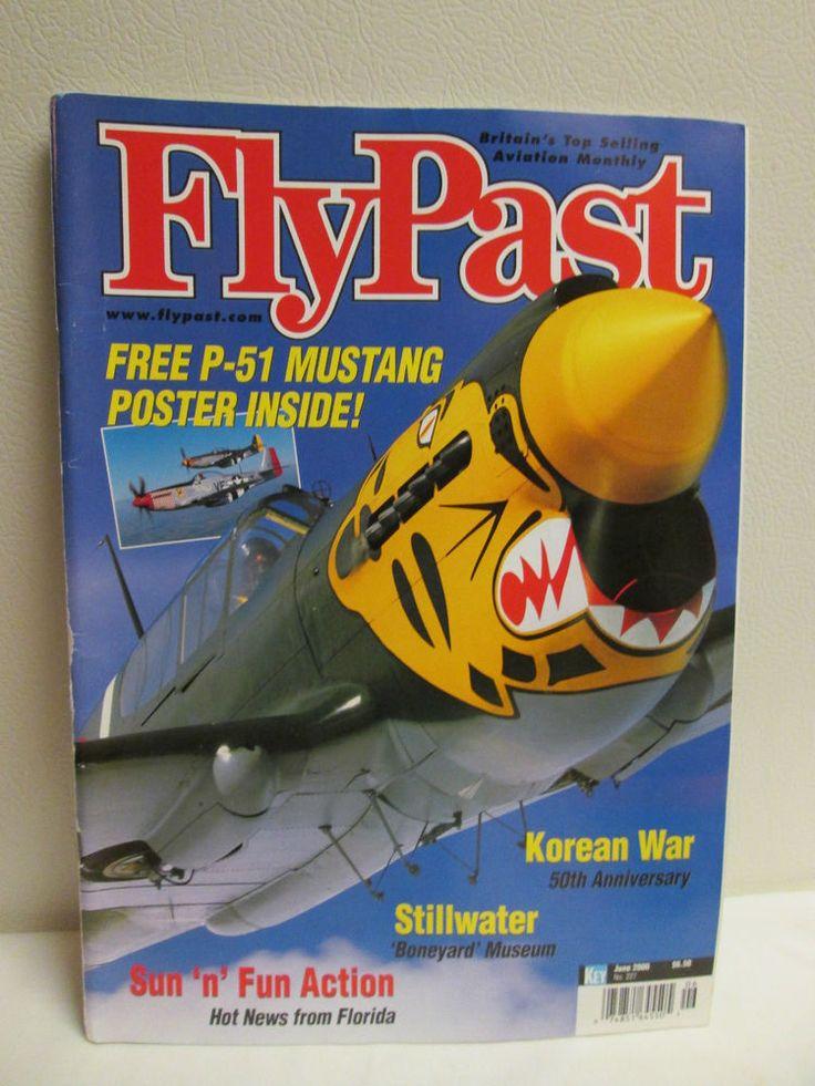 FLYPAST  JUNE 2000 Aviation Airplane Magazine