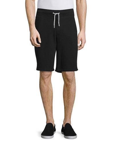 Rag+Bone+Standard+Issue+Drawstring+Sweat+Shorts+Black+|+Clothing