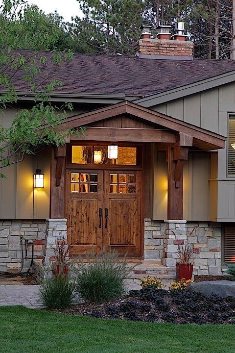 Split Foyer Home Exterior : Best split level exterior ideas on pinterest