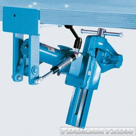 Easy 'put aside' vise from Brockhaus Heuer