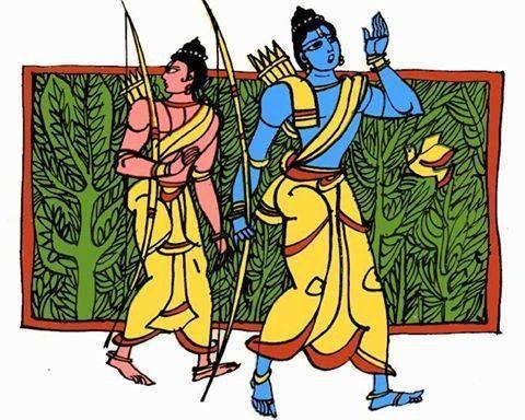 Rama & Laxmana