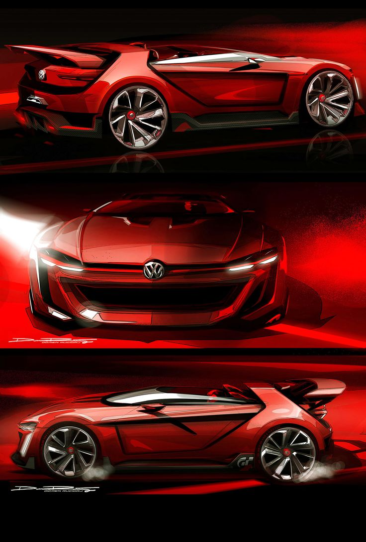 The alluring gti roadster vision gran turismo created by volkswagen design embraces the successful history of the gt