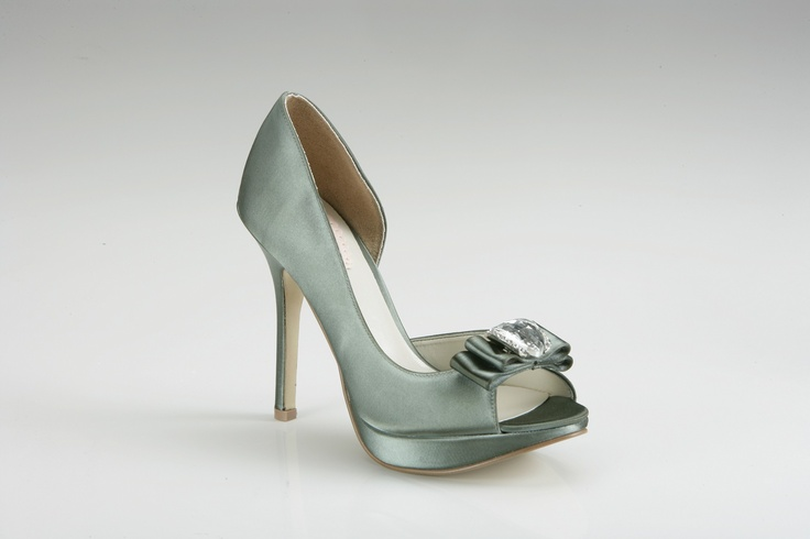 . Grey Wedding Shoes