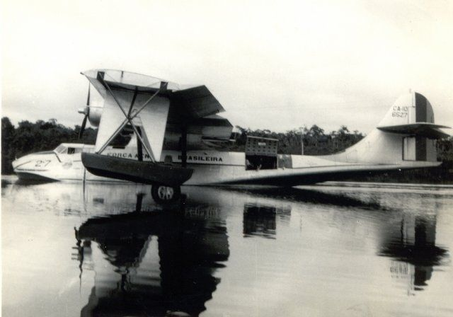 Brazilian Air Force Catalina in the Amazon