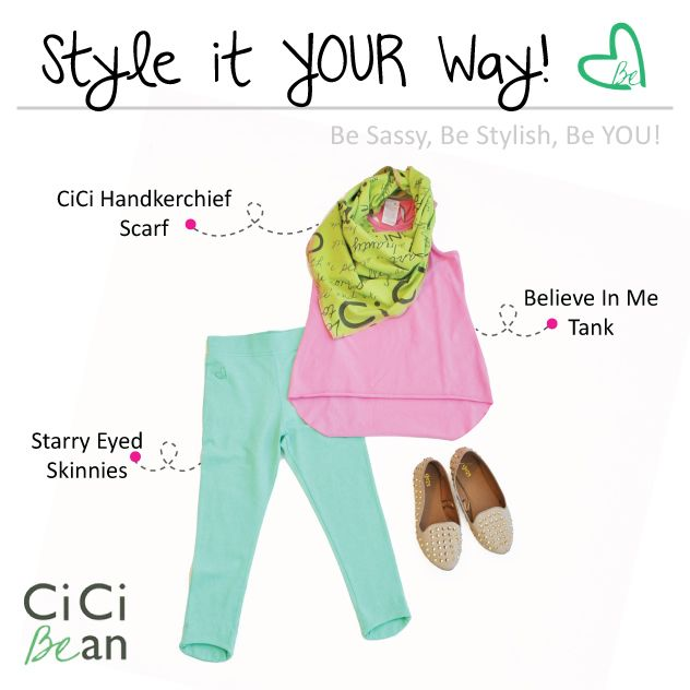 Spring CiCi Style | CiCi Bean - clothing for tween girls. | www.peekaboobeans.com | #cicibeanstyle