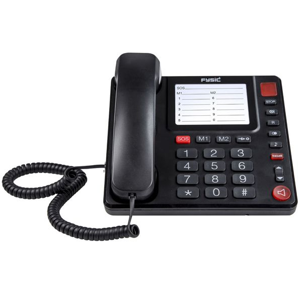 Fysic FX-3920 seniorentelefoon  De Fysic FX-3920 seniorentelefoon is een vaste telfoon voor senioren die niet alleen zeer overzichtelijk maar ook zeer gebruiksvriendelijk is. De FX-3920 seniorentelfoon is namelijk een zeer eenvoudige vaste telefoon voor senioren. Zo is het net als iedere andere telefoon mogelijk om te bellen en gebeld te worden. Wat de Fysic FX-3920 zo overzichtelijk maakt is het feit dat voor veel mensen overbodige functies ontbreken. De telefoon is geschikt om mee te…