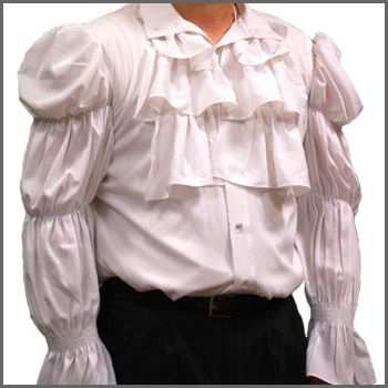 The Seinfeld Puffy Shirt. (Also: phantom of the opera costume/pirate costume, etc. blah)  on sale for $32!