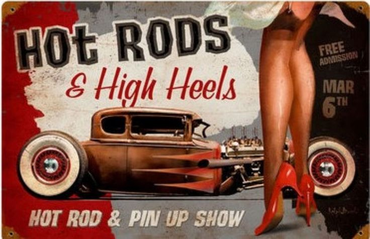 hot rod & high heels  div. maten