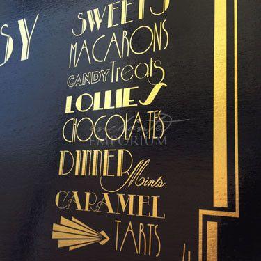 'The Sweeteasy' Sweet Buffet Dutchess - Hire / Great Gatsby / Wedding + Event Hire