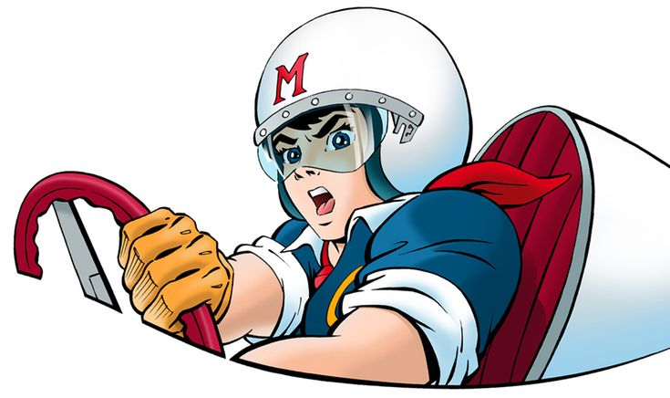 Speed Racer: Front Color by blogzilly on deviantART