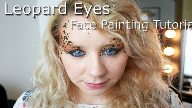 Leopard Eyes- Fast Festival Faces- Face Painting Tutorial