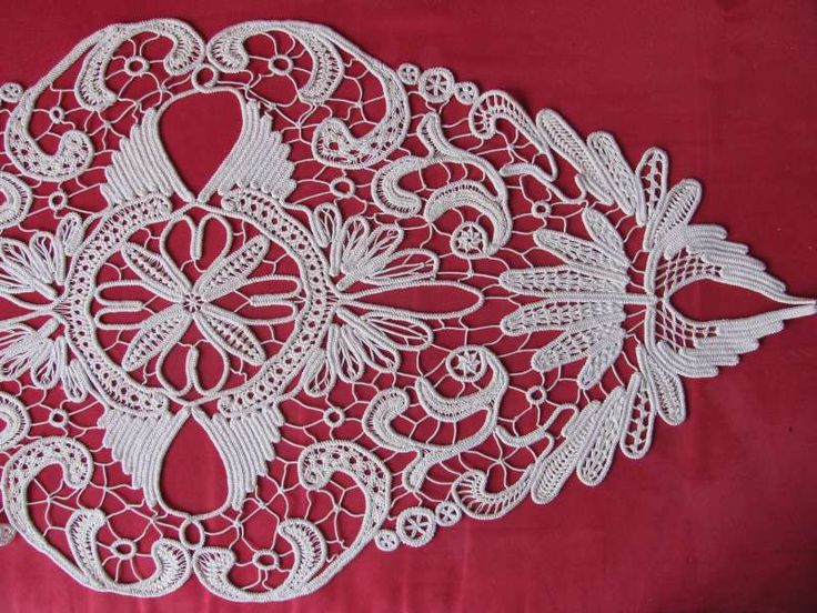 Romanian Point Lace Crochet aka Macramé Lace Crochet