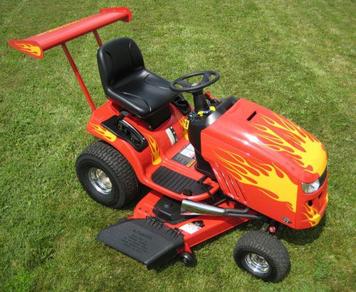 Pimped Out Lawn Tractors Google Search Cool Lawn
