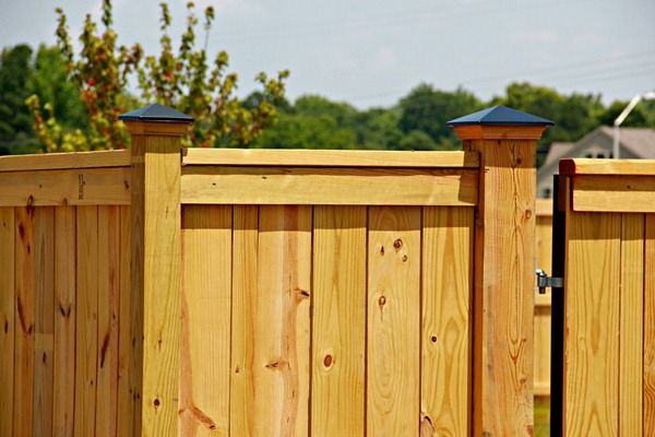 Wooden fence gates the seegars difference good wooden for Simple fence plans