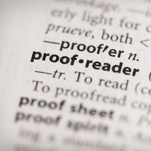 The difference between #editing and #proofreading