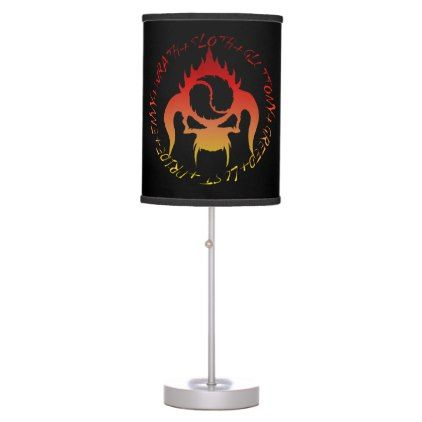 Seven deadly sins table lamp - light gifts template style unique special diy