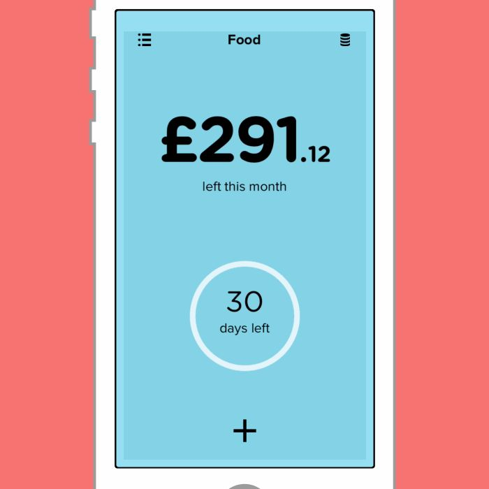 Pennies is a super-simple budget tracker. This animation shows me switching between my daily and monthly food budget. Get Pennies
