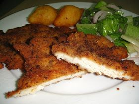 Maryam's Culinary Wonders: 168. Chicken Escalope Milanese