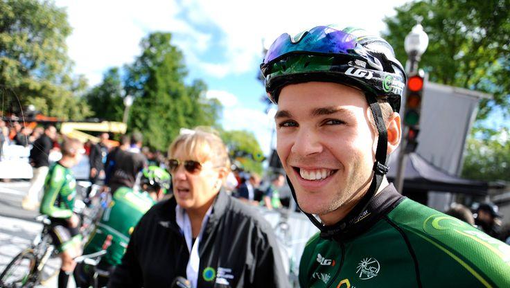 Antoine Duchesne (Team Europcar) lors du Grand Prix Cycliste de Québec 2014  // Crédit Yves Perret
