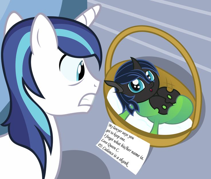 mlp queen chrysalis and shining armor - Google Search