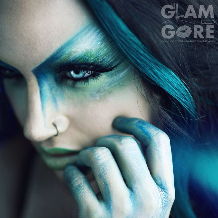 Avant garde high fashion makeup look. For more makeup looks and tutorials: www.instagram.com/Mykie_ www.youtube.com/GlamAndGoreMakeup