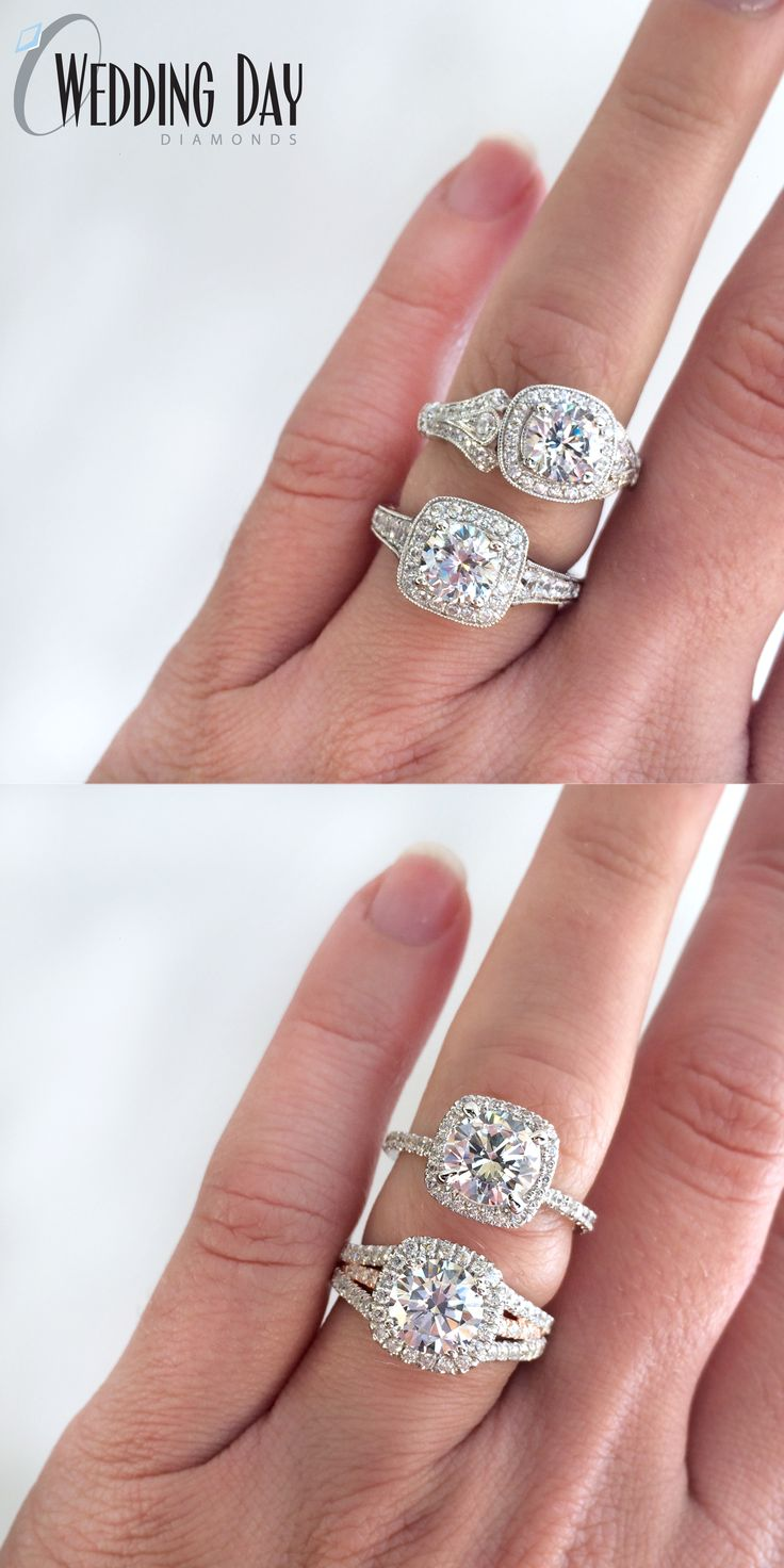 Which Halo Style Engagement Ring Do You Like Best?