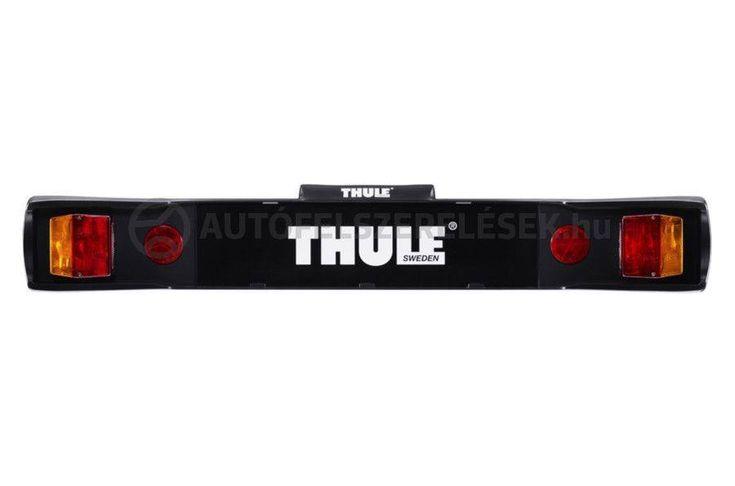 Rögzítő pántok segítségével egyszerűen felszerelhető a Thule világítástábla, mely ellátja az autó legfontosabb hátsó lámpáinak feladatát!  https://autofelszerelesek.hu/thule-976-vilagitastabla