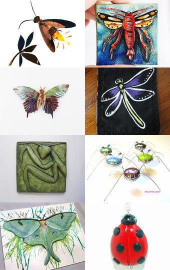 BUGZ - a Canadian Team treasury by Sharon Wittke on Etsy--Pinned with TreasuryPin.com