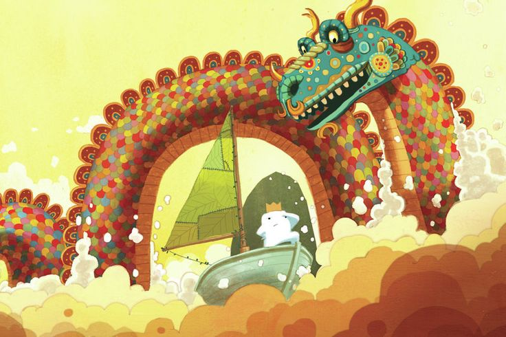In Dan Santat's The Adventures of Beekle, an imaginary friend sets out to find a child who needs him.