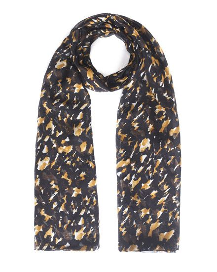 JIGSAW | Camouflage scarf | 100% cotton | £59