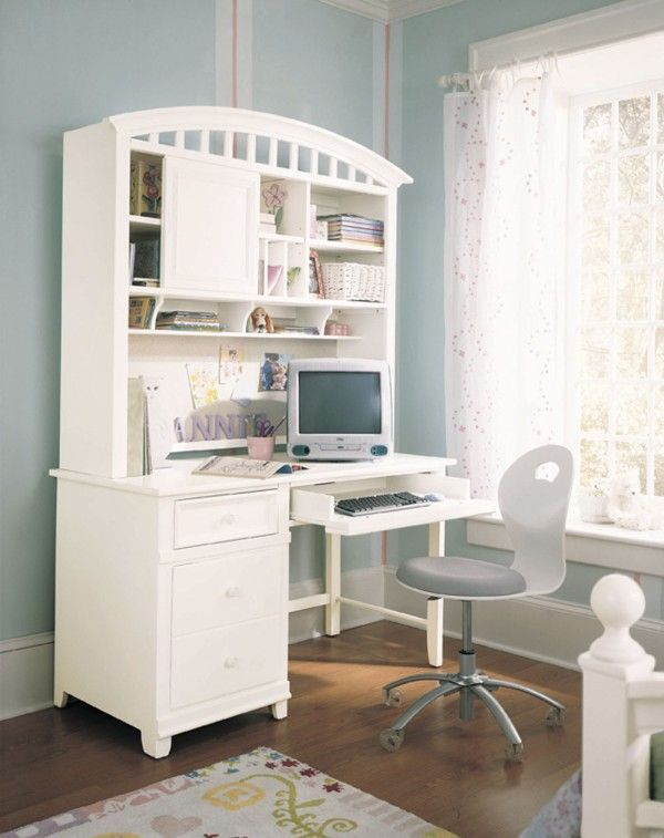 Girls Bedroom Desks 23 best abbie's bedroom images on pinterest | architecture