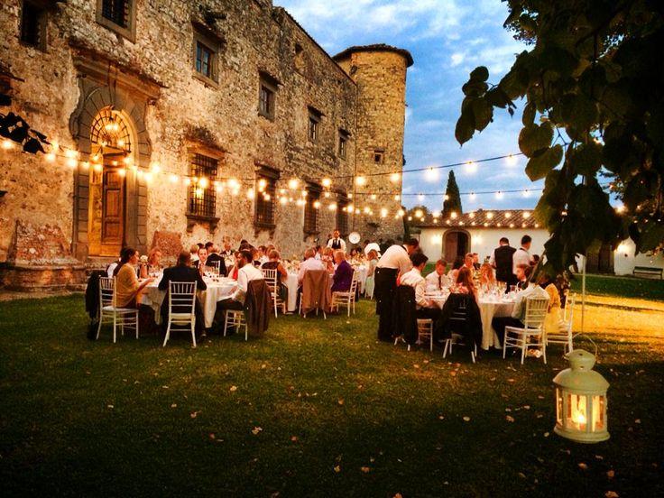 Dinner in the main garden