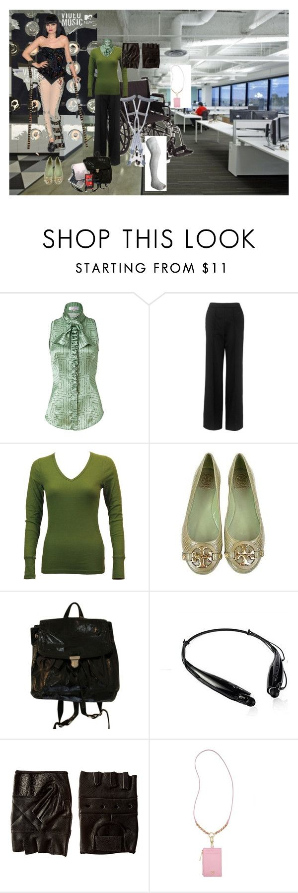 """""""What to Wear to Work When You Break Your Leg"""" by slc95815 ❤ liked on Polyvore featuring L'Wren Scott, Whistles, Clothes Effect, Tory Burch, Coach and Nokia"""