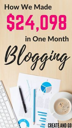 Blog Income Report August 2016 - $24,098 Blogging | http://createandgo.co/august-income-report-2016/