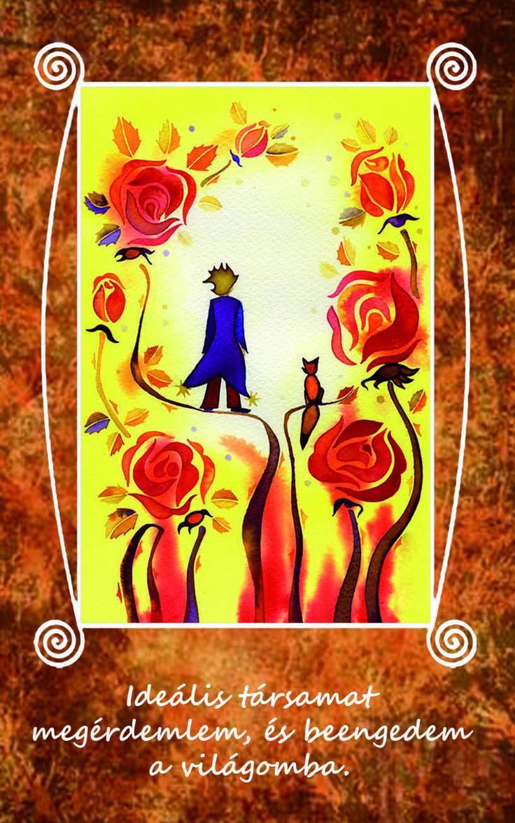 Ideális társamat megérdemlem, és beengedem a világomba. LélekErő Kártyák: 62 db-os kártyacsomag pozitív megerősítő mondatai: a női lelket erősítik, változást idéznek elő, a mindennapok ékszerei. http://www.notudat.hu/lelekero-kartyak