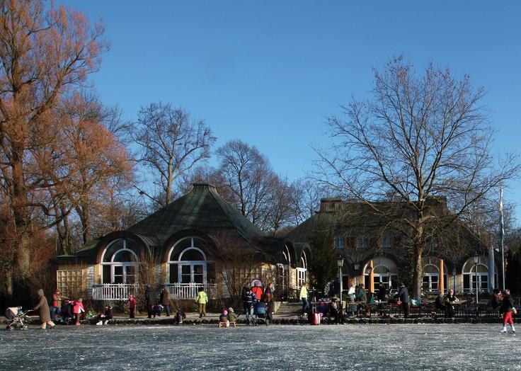 Unique Winter Seehaus im Englischen Garten in Munich