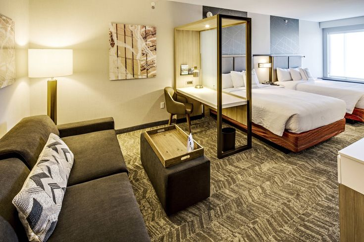 Springhill Suites Dayton North Queen Queen Suite Suite
