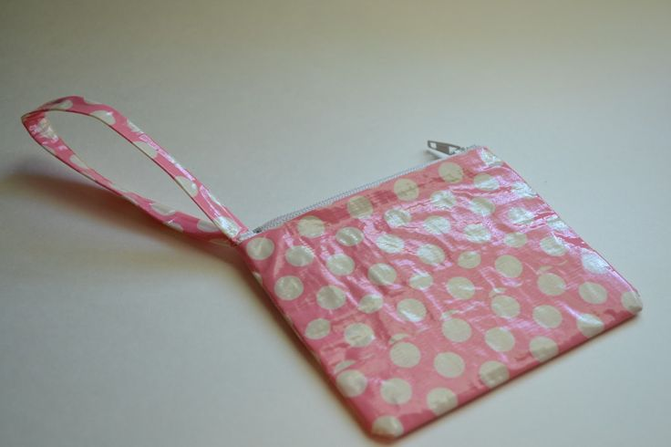 No sew duct tape pouch