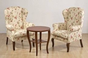 Fotele Uszaki i stolik AD z naszej oferty. Two WingBack Armchairs and a table from our offer.