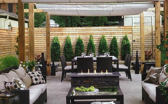 townhouse backyard design ideas - Google Search