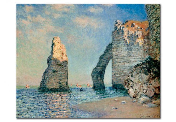 Tableaux de Claude Monet sont des oeuvres uniques qui se caractérisent par de belles couleurs et la précision des détails. Nous recommandons la reproduction d'un de ses créations pour la décoration de votre intérieur. #monet #claudemonet #tableau #reproduction #impressionisme #peinture