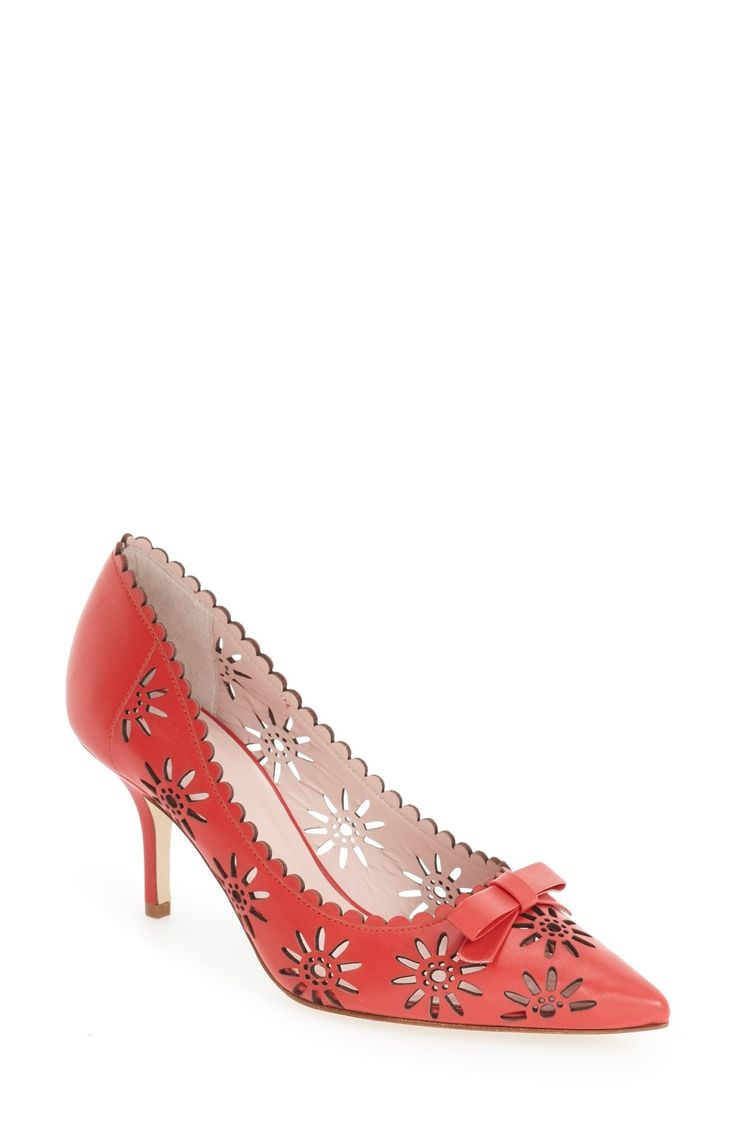 kate spade new york 'janina' pointy toe pump (Women) available at #Nordstrom